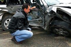 Ispettore di assicurazione Fotografia Stock