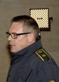 ISPETTORE DI POLIZIA DEL CAPO DI TOBEN MOLGAARD JENSEN Fotografia Stock Libera da Diritti
