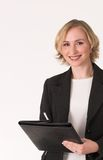 Ispettore femminile c Fotografia Stock Libera da Diritti