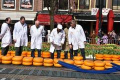 Ispettori del formaggio Immagine Stock