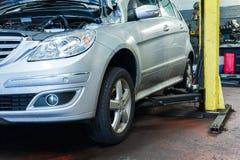 Ispezione dell'automobile immagine stock