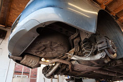 Ispezione dell'automobile Fotografia Stock Libera da Diritti