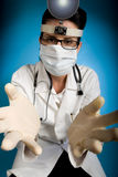 Ispezione sanitaria Fotografia Stock Libera da Diritti