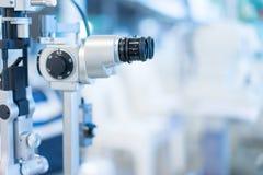Ispezione visiva nell'ospedale per i pazienti di miopia fotografia stock libera da diritti