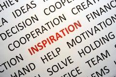 Ispirazione Immagini Stock
