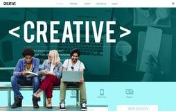 Ispirazione Conce dell'innovazione di immaginazione di idee di pensiero creativo Immagine Stock Libera da Diritti
