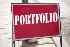 Ispirazione concettuale di titolo del testo di scrittura della mano che mostra cartella Concetto di affari per progettazione di v Immagine Stock Libera da Diritti
