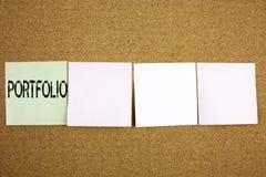 Ispirazione concettuale di titolo del testo di scrittura della mano che mostra concetto di affari della cartella per progettazion Immagine Stock