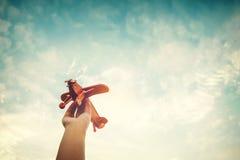 Ispirazione di infanzia fotografia stock libera da diritti