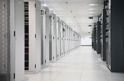 ISPs Data Center Royalty Free Stock Photography