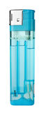 Isqueiro azul Fotografia de Stock