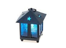 Isqueiro de vidro azul Imagem de Stock Royalty Free