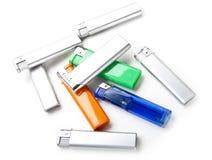 Isqueiros de cores diferentes Foto de Stock