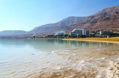 Israël, Dode Overzees, het hoteldistrict van Ein Bokek Royalty-vrije Stock Afbeelding