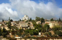 Israël; Jeruzalem. Royalty-vrije Stock Foto's