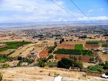 Israël, Midden-Oosten, Jericho, Onderstel van Verleiding stock fotografie