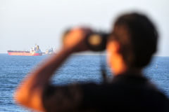 Israëlische Waterpolitie royalty-vrije stock foto's
