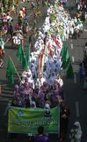 Isra miraj parade Royalty Free Stock Image