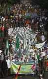 Isra miraj parade Stock Photo