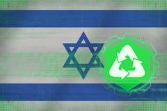 Israel återvinning duvor för begreppsecofred Fotografering för Bildbyråer