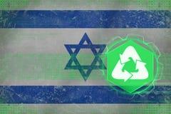 Israel återvinning många begreppsekologibilder mer min portfölj Fotografering för Bildbyråer