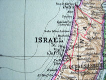 Israel 2. The way we looked at Israel in 1949 Royalty Free Stock Photography