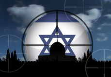 Israel. And the dangerous middle east crisis Stock Photos