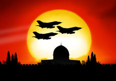 Israel. And the dangerous middle east crisis Stock Photography