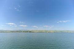 Israel, Ansicht des Meeres von Galiläa Lizenzfreies Stockfoto