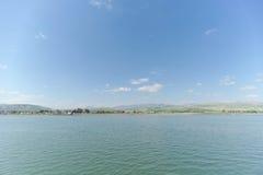 Israel, Ansicht des Meeres von Galiläa Lizenzfreie Stockbilder