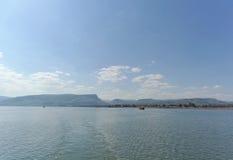 Israel, Ansicht des Meeres von Galiläa Lizenzfreies Stockbild