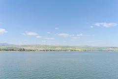 Israel, Ansicht des Meeres von Galiläa Stockbild