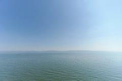 Israel, Ansicht des Meeres von Galiläa Stockfoto