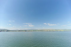 Israel, Ansicht des Meeres von Galiläa Stockbilder