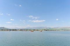 Israel, Ansicht des Meeres von Galiläa Stockfotos