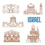 Israel architecture landmarks, sightseeing Stock Photography