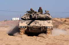 Israel Army Tank Royalty Free Stock Images
