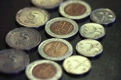 Israel-Bargeld Stockbild