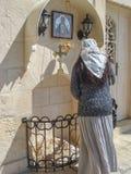 israel bethlehem ícone Foto de Stock