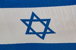 Israel blue and white flag. Israel flag blue and white royalty free stock image