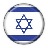 Israel button flag round shape Stock Images