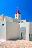 Israel, Catholic Franciscan Church of St. John the Baptist, in t. The temple was renovated in 1947, and currently is the only Catholic church in Acre. Acre, an Stock Photos