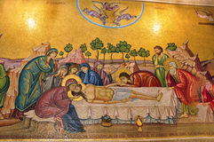 Israel, on the church frescoes Royalty Free Stock Image