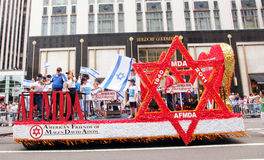 Israel day parade 2011 Stock Photography