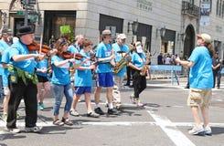 Israel Day Parade 2015 arkivbilder