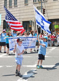 Israel Day Parade 2015 Stock Foto