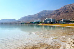 Israel, Dead Sea, Ein Bokek hotel district Royalty Free Stock Image