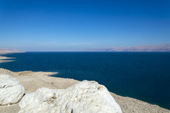 Israel. Dead sea. View from Judean desert royalty free stock photography