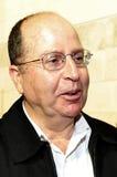 Israel Defense Minister - Moshe Ya'alon stockbild