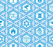 Israel design seamless Stock Photo